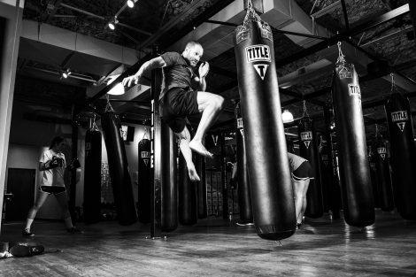 trening z workiem bokserskim