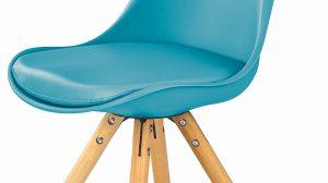 A może turkusowe? Modne krzesła do Twojego wnętrza