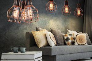 Industrialne oświetlenie do domu – jak wybrać lampy?